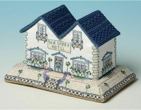 Sea Spray Hotel 3D Cross Stitch Kit