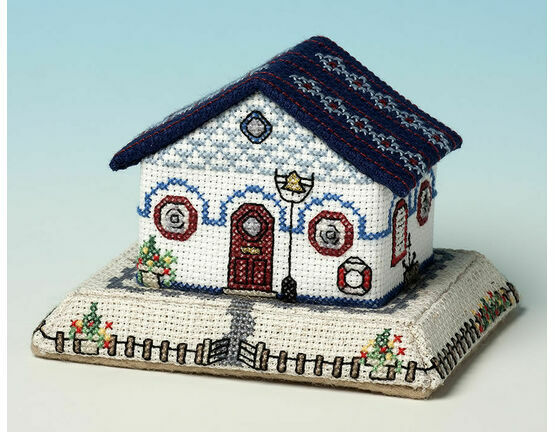 Harbourmasters Cottage 3D Cross Stitch Kit