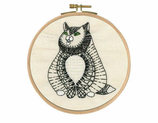 Sebastian Sitting Embroidery Kit