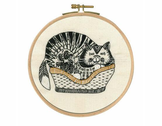 Sebastian Sleeping Embroidery Kit