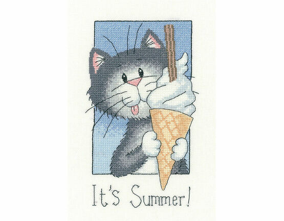 It\'s Summer Cross Stitch Kit