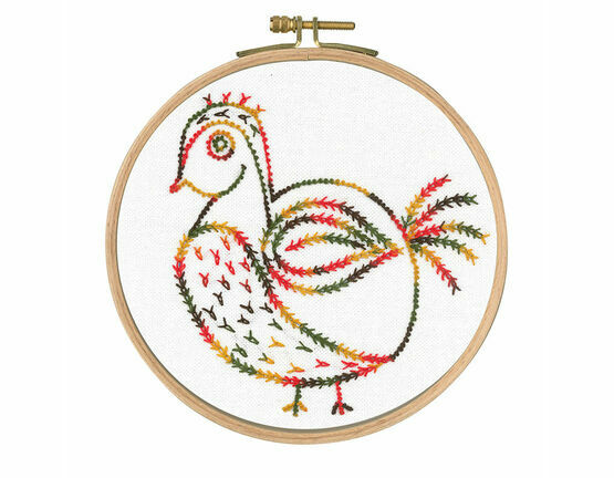 Why Am I Here? Printed Embroidery Kit