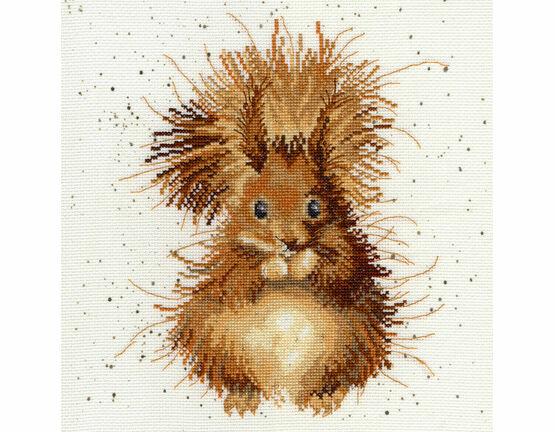 The Nutcracker Squirrel Cross Stitch Kit