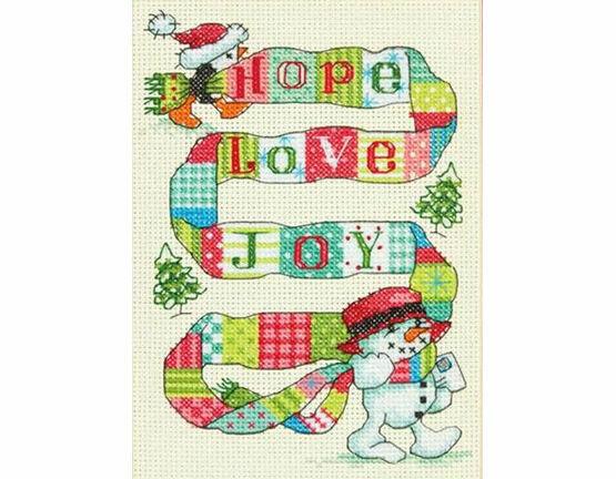 Spread The Joy Cross Stitch Kit