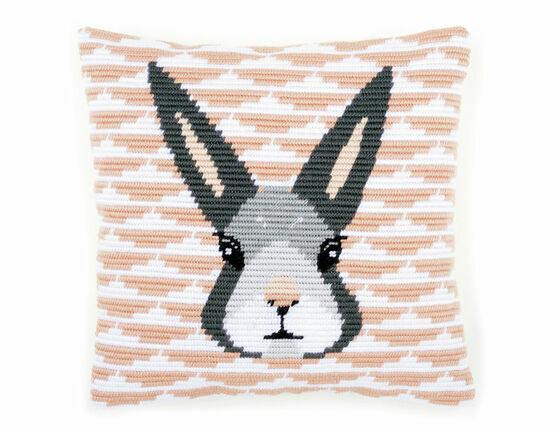 Yvonne Angled Clamping Stitch Cushion Panel Kit