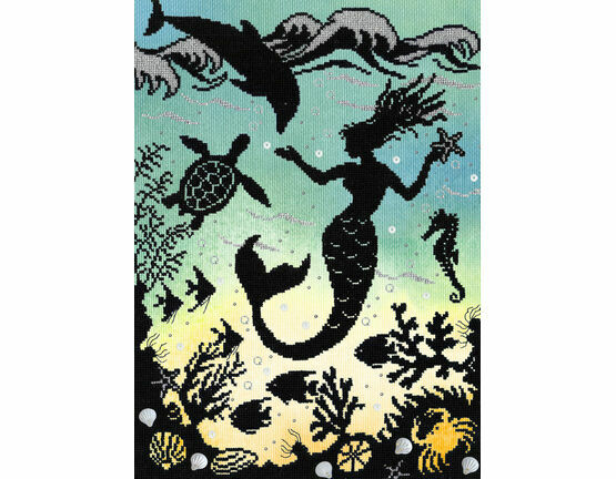 Mermaid Cove (P) Cross Stitch Kit