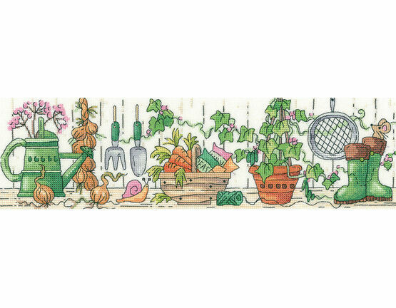 The Potting Shed Cross Stitch Kit