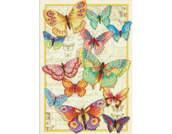Butterfly Beauty Cross Stitch Kit