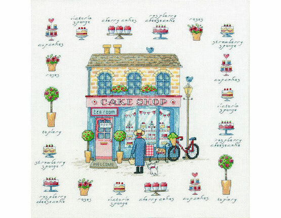 Cake Shop Cross Stitch Kit
