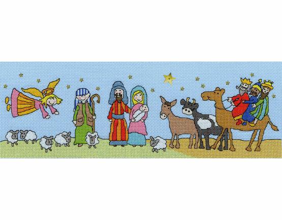 Star Of Bethlehem Cross Stitch Kit