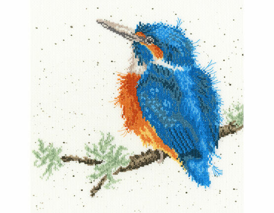 King Of The River Cross Stitch Kit