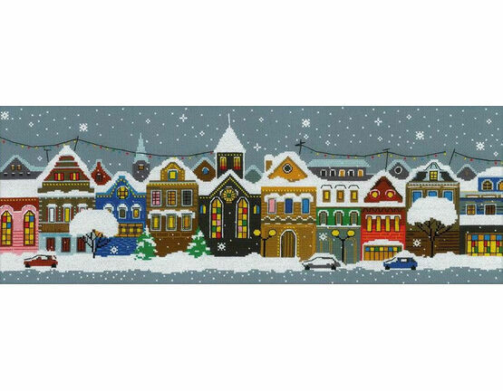 Christmas City Cross Stitch Kit