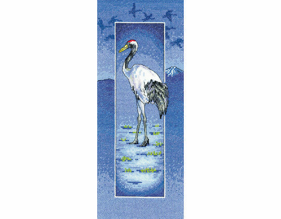 Crane Cross Stitch Kit