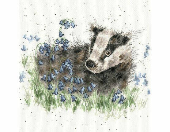 Bluebell Wood Cross Stitch Kit