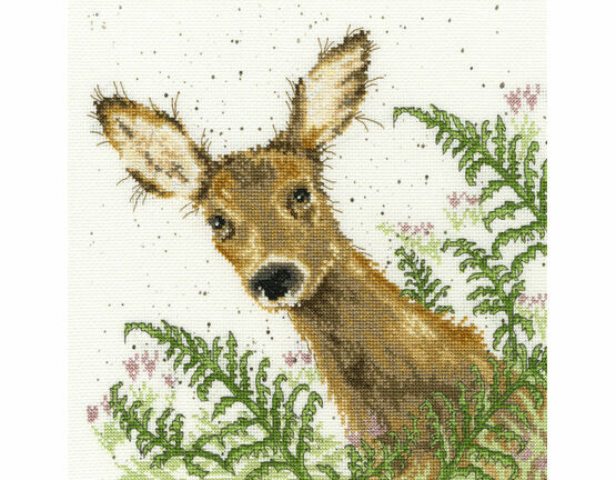 Doe A Deer Cross Stitch Kit
