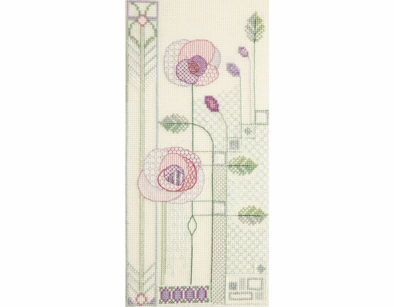 Evening Rose Cross Stitch Kit