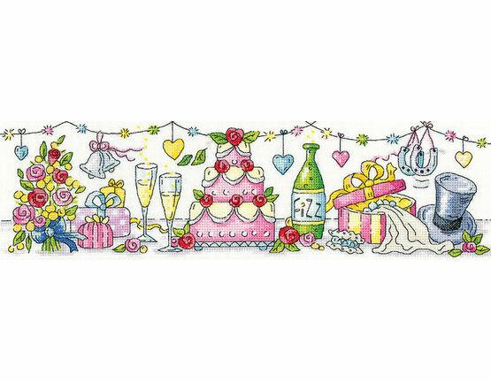 Wedding Day by Karen Carter Cross Stitch Kit