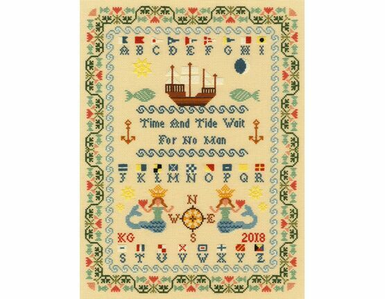 Time And Tide Cross Stitch Kit