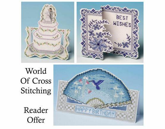 World Of Cross Stitch Special Offer Set Of Cross Stitch Card Kits