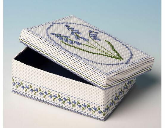 Bluebells Box 3D Cross Stitch Kit
