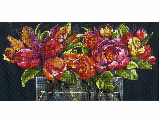 Flowers Of Joy Cross Stitch Kit
