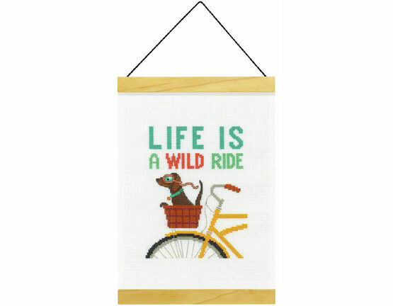 Wild Ride Banner Cross Stitch Kit