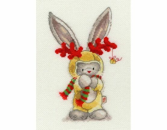 Bebunni - Rudolf Cross Stitch Kit