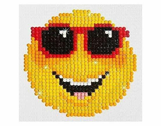 Smiling Face Beginners Diamond Dotz Kit