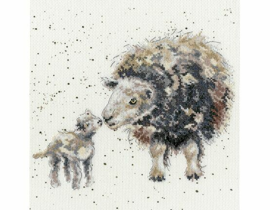 Ewe And Me Cross Stitch Kit