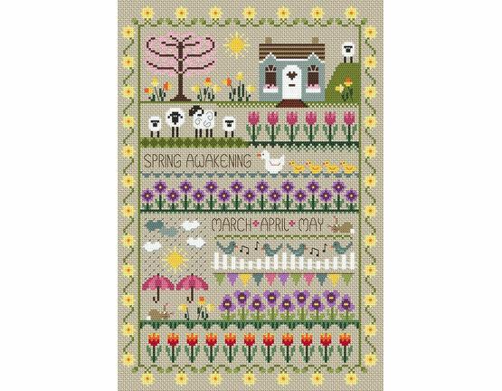 Spring Awakening Cross Stitch Kit