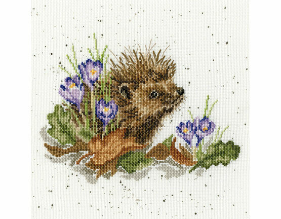 New Beginnings Hedgehog Cross Stitch Kit