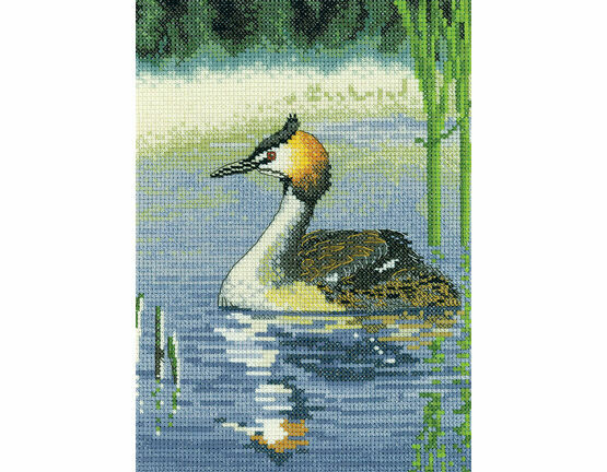 Grebe Cross Stitch Kit