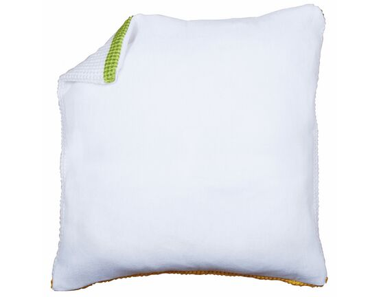 Vervaco White Cushion Back Without Zipper (45 x 45cm)