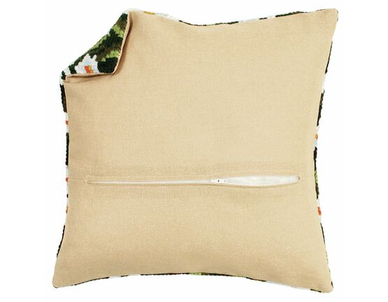 Cushion Back Natural With Zipper 45x45cm