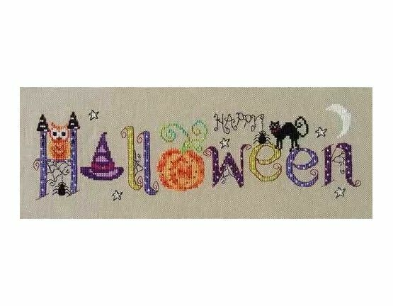 Halloween Banner Cross Stitch Kit