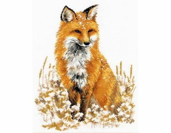 Little Fox Cross Stitch Kit