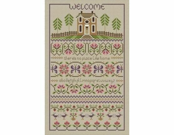 No Place Like Home Cross Stitch Kit