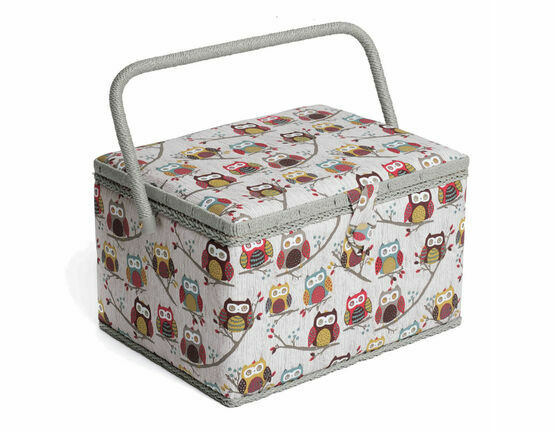 Hobby Gift Large Sewing Box - Hoot Design