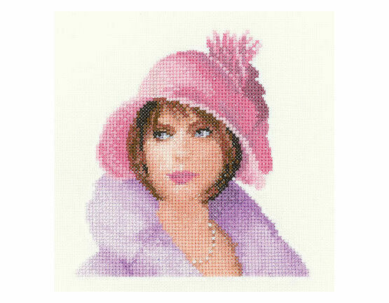 Heritage Crafts Harriet In Miniature Cross Stitch Kit