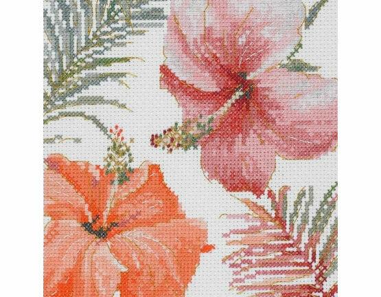 Tropical Blush Cross Stitch Kit