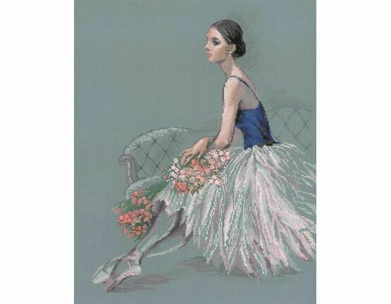 Ballet Dancer Cross Stitch Kit