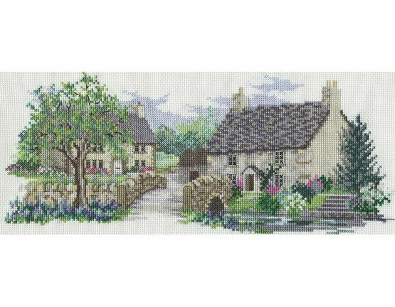 Bluebell Lane Cross Stitch Kit