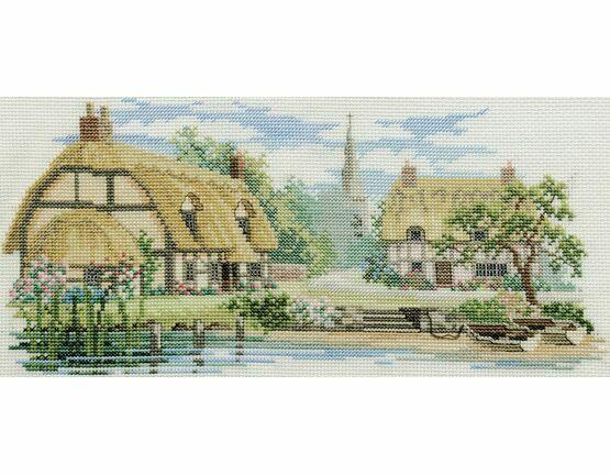 Waterside Lane Cross Stitch Kit