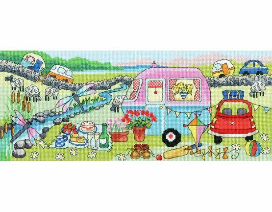 Caravan Fun Cross Stitch Kit