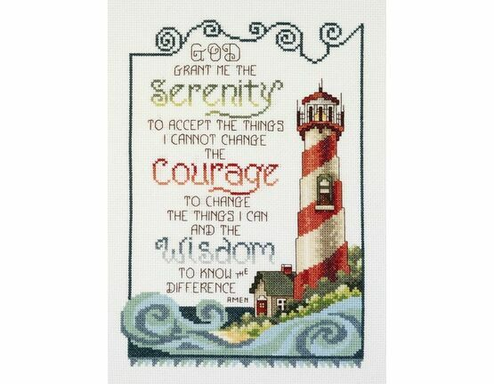 Serenity Lighthouse Cross Stitch Kit