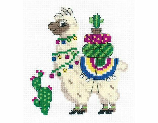Llama Cross Stitch Kit