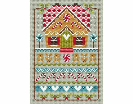 Gingerbread Cottage Cross Stitch Kit