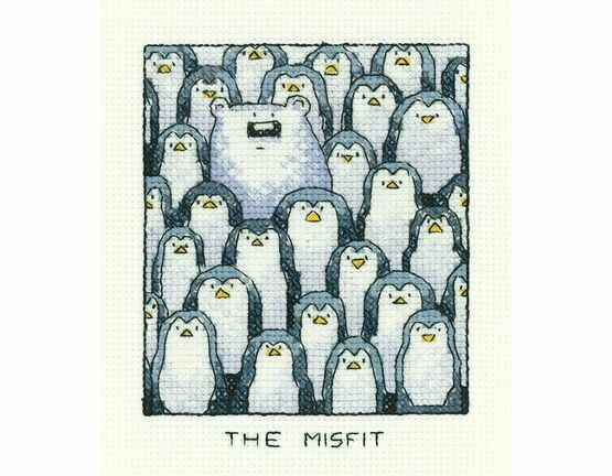 The Misfit Cross Stitch Kit