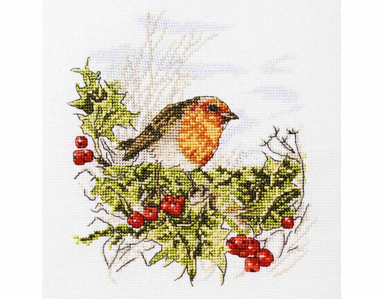 Mr Robin Cross Stitch Kit
