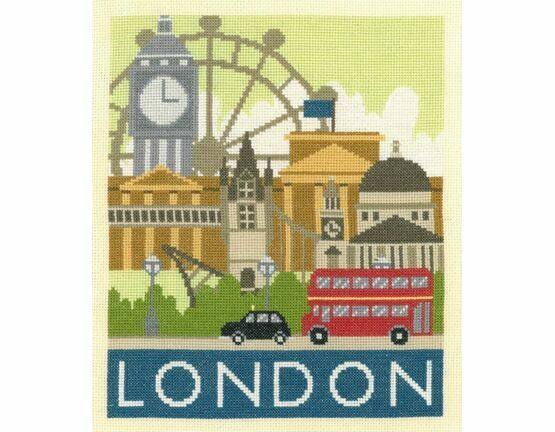 London Cityscapes Cross Stitch Kit